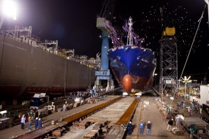 Isla Bella – World's First LNG Powered Containership